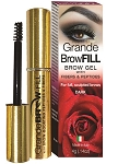 Grande BROW FILL Dark Brow Gel with Peptides & Fibers