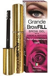 Grande BROW FILL LIGHT  Brow Gel with Peptides & Fibers