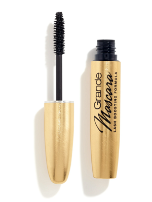 Grande Mascara with Conditioning Peptides  in Rich Black
